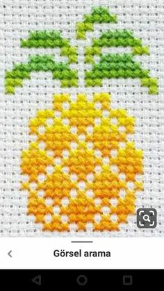 Cross Stitch Fruit, Tiny Cross Stitch, Cross Stitch Bookmarks, Cross Stitch Heart, Simple Cross Stitch, Cross Stitch Flowers, Cross Stitch Designs, Cross Stitch Patterns, Hand Embroidery Design Patterns