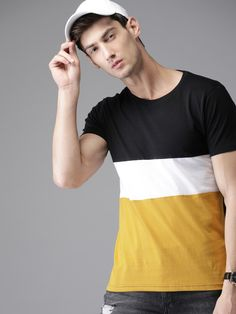 Cotton T-Shirt Fabric: Cotton Sleeves: Sleeves are Included Size: M, L , XL (Refer Size Chart) Length: Refer Size Chart Description: It Has 1 Piece Of Men's T-Shirt Pattern: Solid Indian Men Fashion, Mens Fashion, Latest T Shirt, Classy Men, Casual T Shirts, Types Of Fashion Styles, 1 Piece, Neck T Shirt, Shirt Designs
