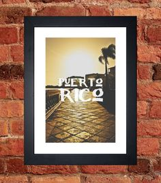 Items similar to San Juan, Puerto Rico Print on Etsy San Juan Puerto Rico, My Etsy Shop, Digital, Unique Jewelry, Frame, Handmade Gifts, Prints, Vintage, Picture Frame