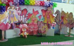 Barbie e as 3 Mosqueteiras - Muita Festa Decorações