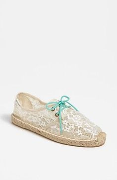Lace + Mint = Summer Espadrilles Obsession