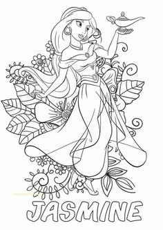 Disney Princess Merida Coloring Pages Lovely Hello Kids This is A Beautifull Jasmine with Flower Free Disney Coloring Pages, People Coloring Pages, Disney Princess Coloring Pages, Disney Princess Colors, Disney Colors, Cute Coloring Pages, Cartoon Coloring Pages, Christmas Coloring Pages, Free Printable Coloring Pages