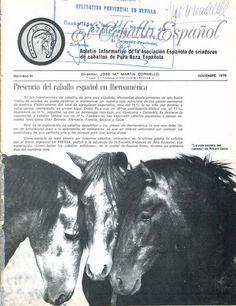 Revista El Caballo Español 1979, n.15 by Revista El Caballo Español - ANCCE - issuu