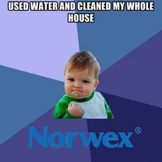 How long does it take you to clean your house? Norwex can help you cut that time in half- yes, I said in half! Using our household pack and the awesome floor system- you can clean from top to bottom using just Norwex and water. So safe and easy your children can even help. Order now so you will have more time to play! www.jamieschwegel.norwex.biz