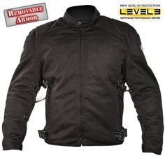 Xelement Mens Black Mesh Motorcycle Jacket with Advanced ArmorThis Xelement Jacket is made of poly mesh material with breathable lining. Its safety features include approved removable armor on shoulders and elbows. Motorcycle Helmets For Sale, Motorcycle Equipment, Motorcycle Jackets, Motorcycle Gear, Cycling Equipment, Best Leather Motorcycle Jacket, Leather Jacket, Biker, Bluetooth Motorcycle Helmet