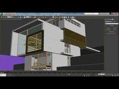 Render Exterior (3ds max con Photoshop) part 1 Tutorial #5