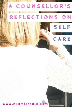 Do you prioritise self care in your life? This article provides a counsellor's thoughts on the importance of self care and me time.