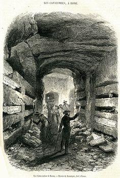 Catacumba romana – Wikipédia, a enciclopédia livre