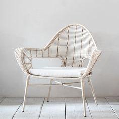 Bevara Natural Rattan Gustav Lounge Chair