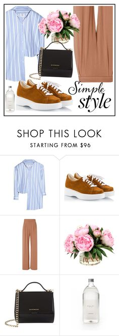"""❤Simple Style Outfit❤"" by puddingis ❤ liked on Polyvore featuring interior, interiors, interior design, home, home decor, interior decorating, Vetements, Robert Clergerie, Fleur du Mal and Givenchy"