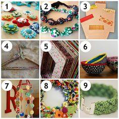 Fabric Craft Ideas | Fabulous Fat Quarter | Fabulous Ideas for Fabric Scraps