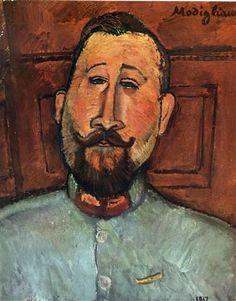 Ritratto del Dottore Devaraigne di Amedeo Modigliani