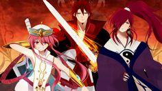Magi: The Labyrinth of Magic// Ren Kouen, Ren Koumei and Ren Kouha