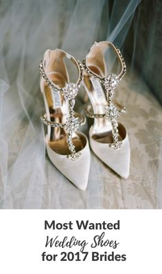 d6be3120907 20 of the Most Wanted Wedding Shoes for 2017 Brides