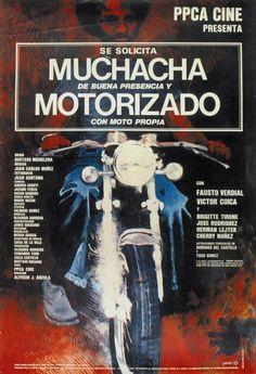 Se solicita muchacha de buena presencia y motorizado con moto propia. Dir. Alfredo Anzola. 1977