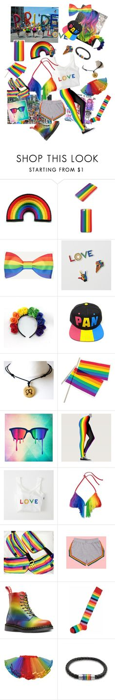 """Pride Parade 🏳️ 🌈"" by rachael-sweet ❤ liked on Polyvore featuring Samsung, Abercrombie & Fitch, Concept One and Bling Jewelry"