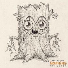More spookiness for Halloween!#morningscribbles | 출처: CHRIS RYNIAK