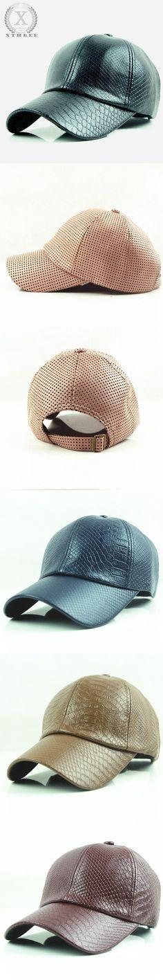 a1a5e80490a Hot fashion Baseball Cap women fall faux Leather cap Sports snapback Hats  For men winter hat for women