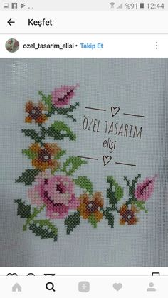 Cross Stitch Flowers, Special Day, Embroidery Patterns, Diy And Crafts, Instagram, Etsy, Barbie, Cross Stitch Kits, Easy Cross Stitch