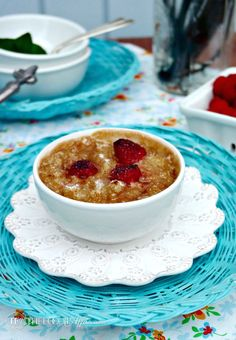 Vanilla Oatmeal Brûlée topped with a brown sugar caramelized crust makes this a delicious brunch entree. Top with a splash of cream,fruits, nuts or shredded coconut for additional flavor! We snuck in thecreme brûlée taste into oatmeal making this an extra special breakfast or brunch entree! Thethin layer of brown sugar caramelized adds a decadent …