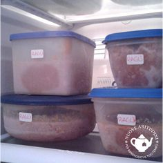 Organizzazione del freezer Canning, Home Canning, Conservation