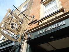 For a delicious selection of cheeses, head to La Fromagerie on Moxon Street in Marylebone - definitely worth a visit! #foodie #londonfoodie #finecheeses #london #seelondon #visitlondon