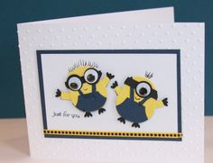 Minions_by_Scrappin_Nona by Scrappin Nona - Cards and Paper Crafts at Splitcoaststampers