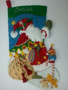 Santa Says Hello for Denise