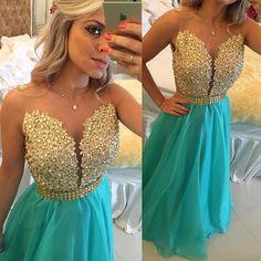 Prom Dresses,Evening Dress,Prom Dresses,Prom Dress,Sparkly A-Line Prom Dress