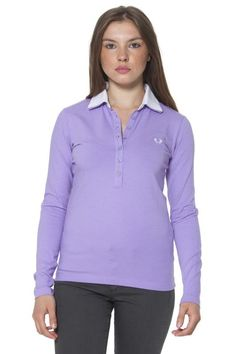 Polo Donna Fred Perry (BO-31032202 0035) colore Viola