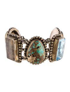 $315.00  Stephen Dweck Multigem Link Bracelet