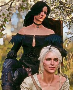 Yennefer Of Vengerberg, Geralt Of Rivia, Ciri, The Witcher 3, Wild Hunt, Cosplay Costumes, Videogames, Gaming, Wonder Woman