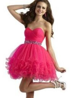 fcf942cc0d2 Cute Exciting short prom dresses with straps short prom dresses