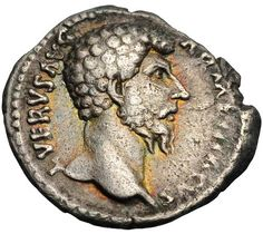 16. Lucius Verus (161 - 169) Ruled jointly with Marcus Aurelius.