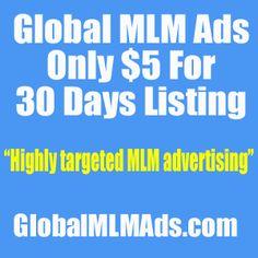 Global MLM Ads - Only $5 For 30 Days Listing | Mujibur Rahman