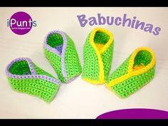 Tutorial Babuchinas: Zapatillas a ganchillo paso a paso - YouTube