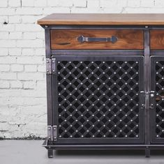 Ellis Media Console by Vintage Industrial Furniture