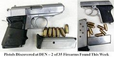 The TSA Blog: TSA Week in Review: 35 Firearms Discovered in Carry-on Bags This Week