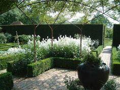 Sissinghurst, The White Garden