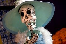 Nov. 1st: Happy Dia de los Muertos! In Mexico, today is the start of a gloriously grisly event, Dia de los Muertos, or Day of the Dead; a celebrated ritual full of ancient tradition and meaning. The upbeat treatment of immortality is both fasinating and confronting.