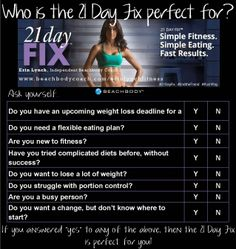 21 Day Fix Program Includes: 7 color-coded portion-control containers Shakeology shaker cup 6 easy-t Best Home Workout Program, Workout Programs, 3 Day Quick Fix, Portion Control Containers, 21 Day Fix Extreme, 30 Minute Workout, Workout Calendar, Mommy Workout, Lose 20 Lbs