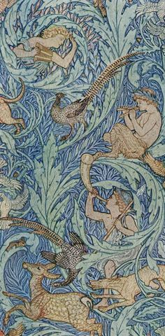 Walter Crane - Arts & Crafts Home