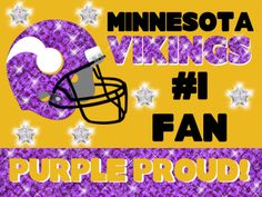 Poster Ideas, Poster Design Tips, Poster Projects, and More! Minnesota Vikings Football, Minnesota Wild, Football Fans, Football Helmets, Viking Baby, Sports Fanatics, Football Conference, Kansas Jayhawks, Home Team