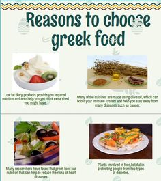 Number of reasons to add greekfood in life for health as well as taste