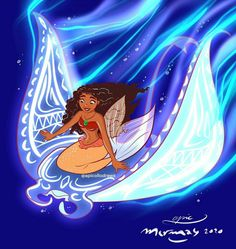 Disney Films, Disney And Dreamworks, Disney Pixar, Disney Characters, Disney Princesses, Moana Disney, Elsa Mermaid, Mermaid Disney, Disney Fan Art