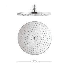 Central 250mm showerhead  - Bath House - €135