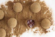 Chokoladetrøfler med lakrids fra Chokolat.dk