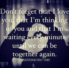 This is always accurate. I miss you every moment I'm not with you. I dream… Distance Love Quotes, Long Distance Relationship Quotes, Distance Relationships, Love Life Quotes, Book Quotes, What Is Love, Love You, Distant Love, Im Thinking About You