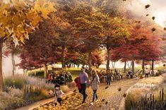 West 8 wins Bernie Spain Gardens Design Competition | #landscapearchitecture #design #competition #west8 #london #concept