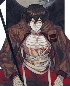 Isaac Foster / Zack (Angels Of Death) Hot Anime Boy, Cute Anime Guys, Cute Anime Couples, Manga Anime, Anime Art, Angel Of Death, Satsuriku No Tenshi, Rpg Horror Games, Manhwa